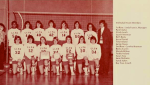 Women's Volleyball Team in 1975