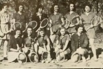 Women's Tennis Team in 1949